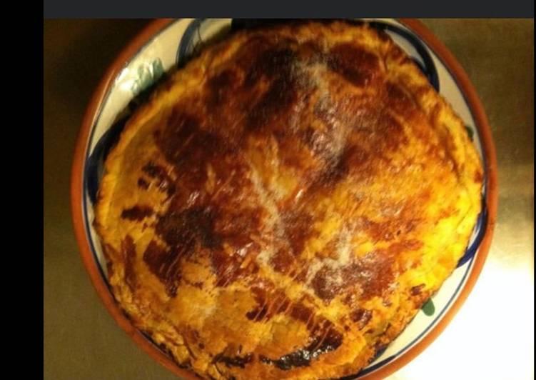 Guide étape par étape pour Préparer Récompense-gagner Pizza soufflée jambon œuf fromage