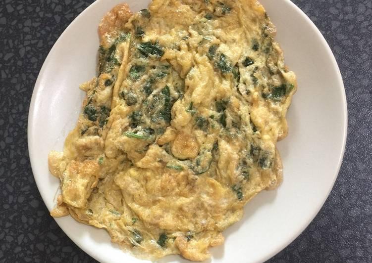 Coriander omelet