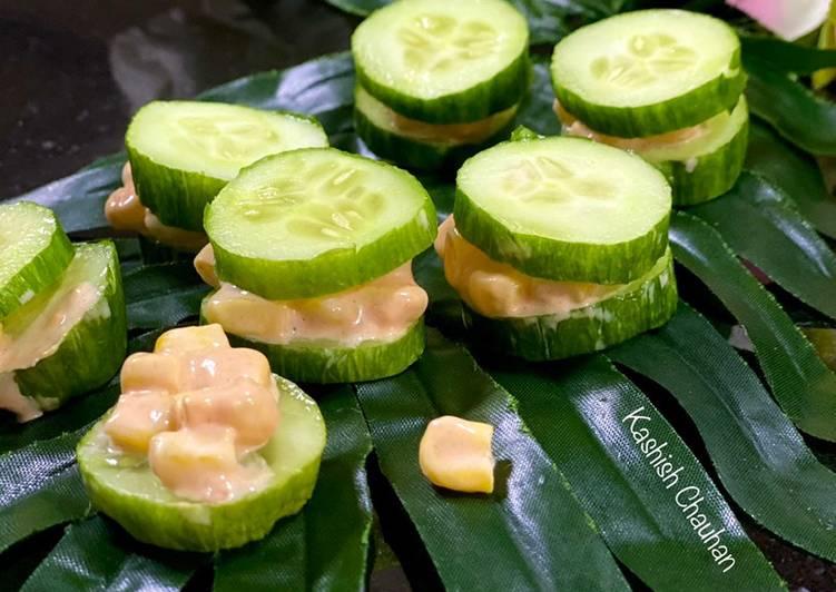 Steps to Prepare Award-winning Cucumber Bites