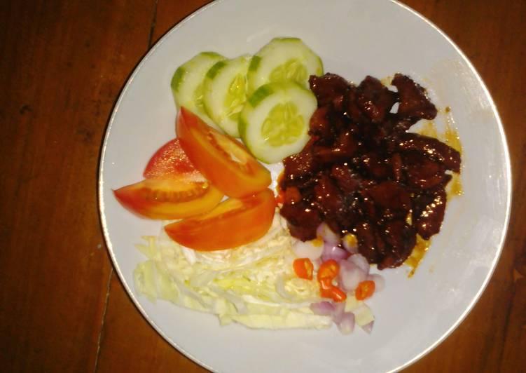 Resep Sate goreng kambing kurban super simpel express Paling Mudah