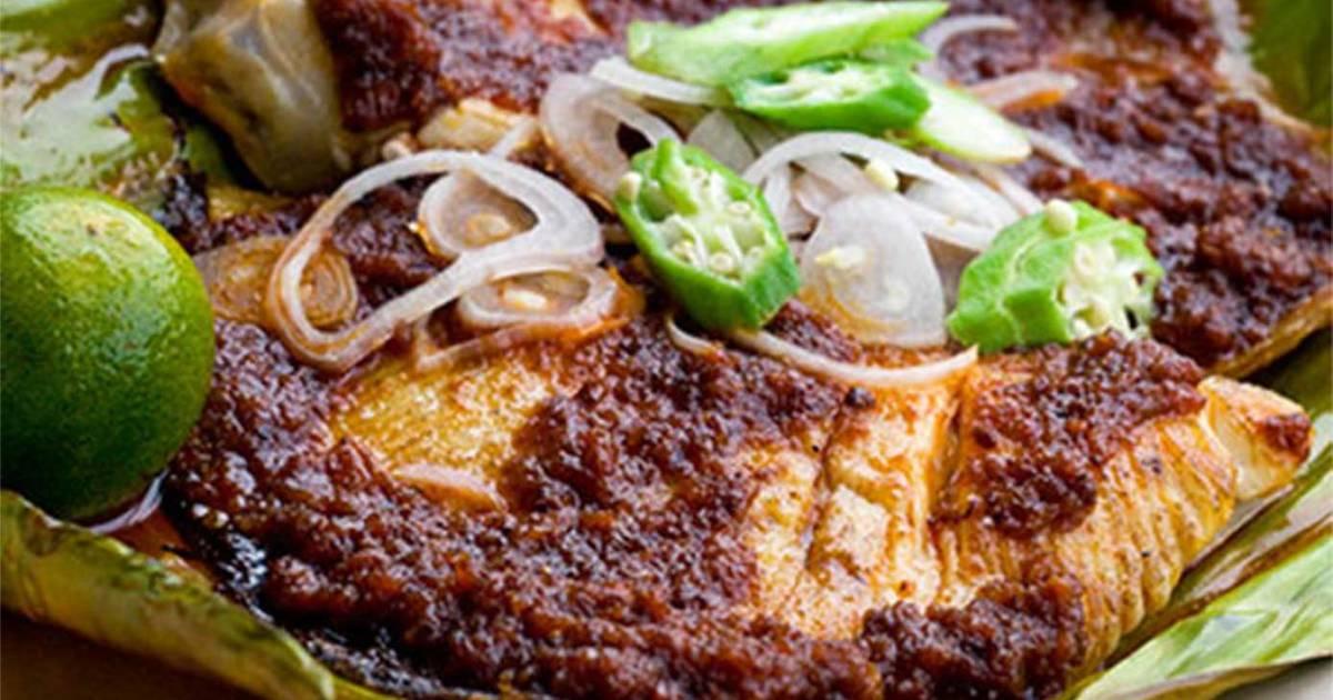 Bbq Stingray Fish Ikan Pari Bakar