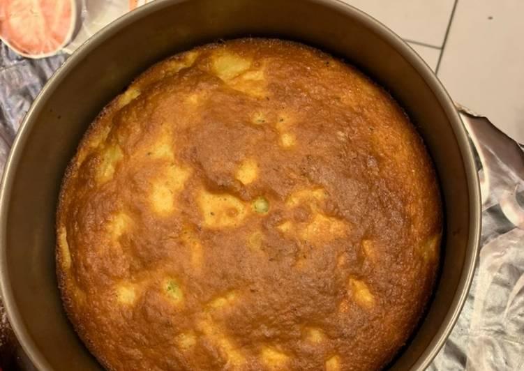Recette Parfait Gâteau pommes 🍎 / Kiwis 🥝