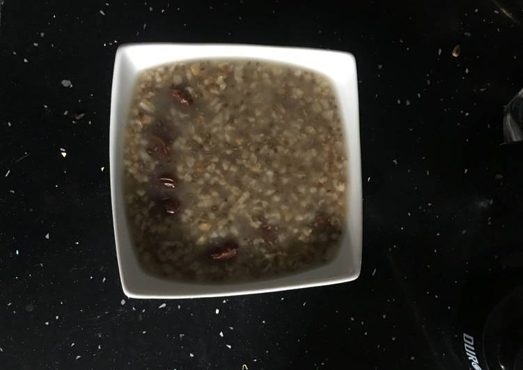 No cook Oat & chia seeds breakfast (overnight) (P 5 min)