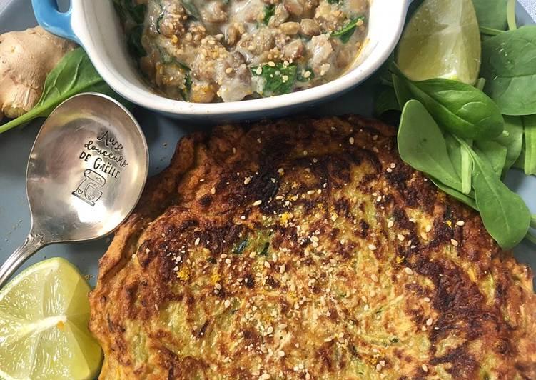 Recette Parfait Monggo philippin et beignets de légumes