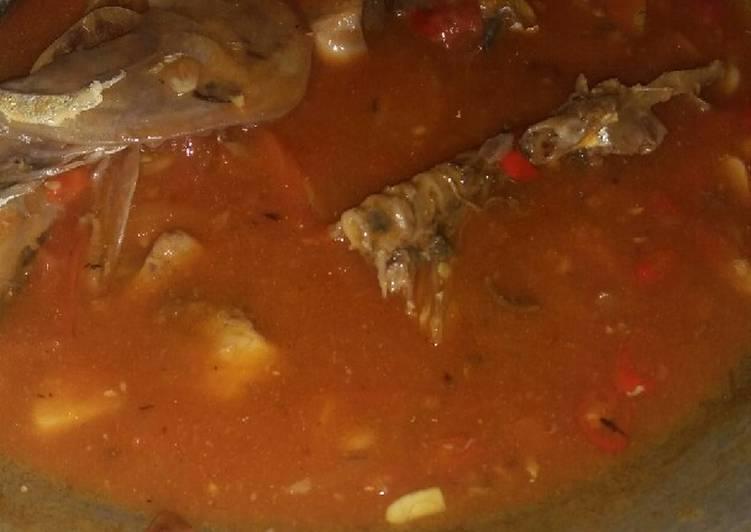 Sarden ikan tongkol pedas