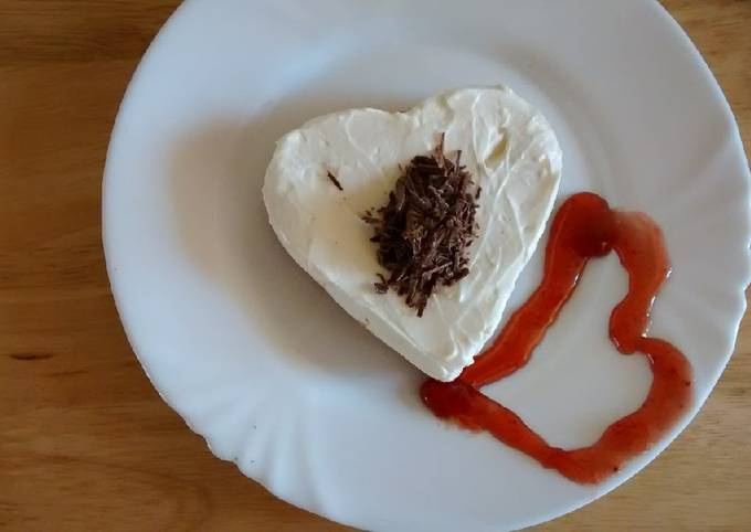 Recipe: Tasty Simple Cheesecake