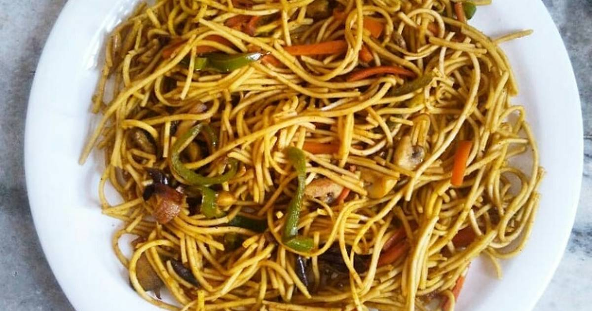 Image result for chowmein with potato