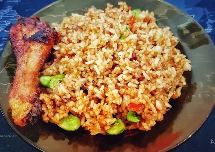 Cara membuat: Nasi Goreng Kecap & Petai