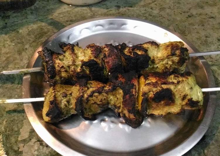 Dhaniya lesuni kebab
