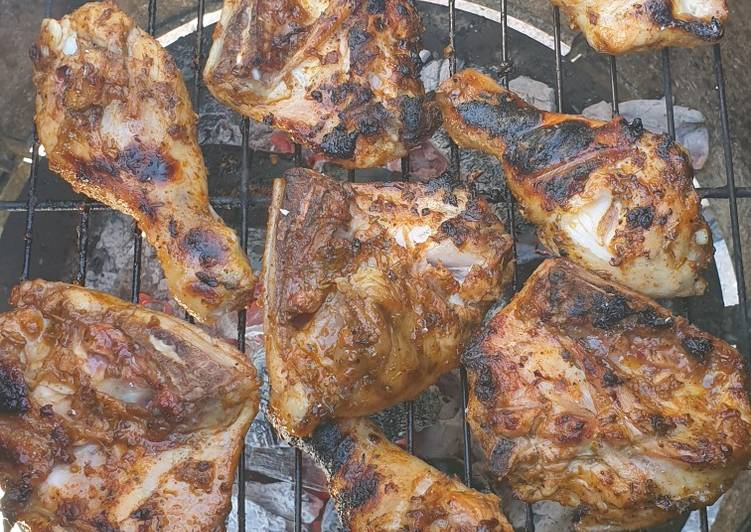 Recipe: Appetizing Marinade for AMAZING BBQ Chicken