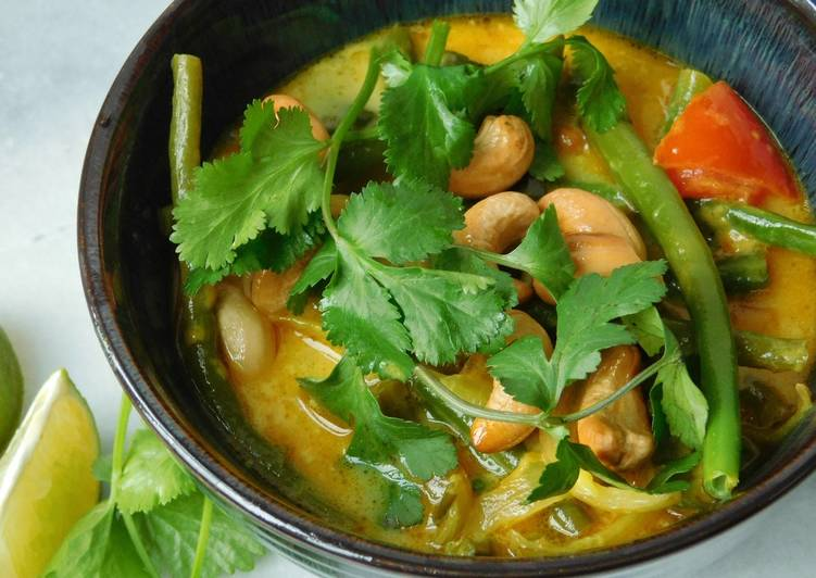 Thai green bean curry Finding Healthy Fast Food