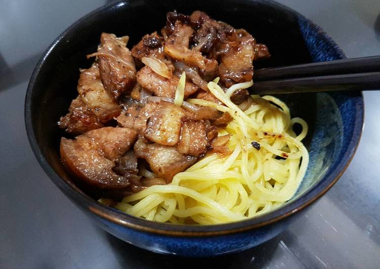 Pork Teriyaki Noodles