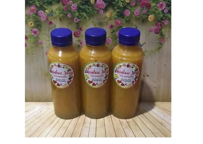 Diet Juice Pumpkin Melon Grape Plum