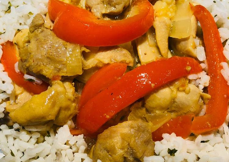 Quick Make -Believe Stir Fry Lemon Chicken