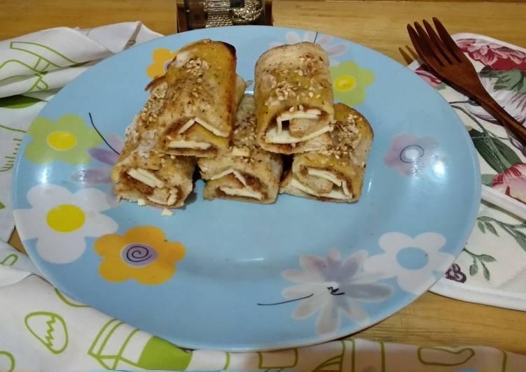 Sandwich Abon Gulung