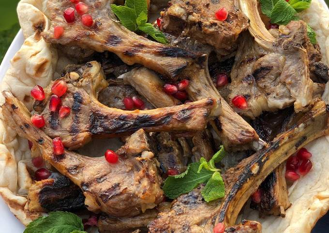 My ultimate grilled lamb chops