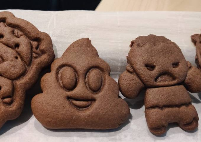 Chocolate Japanese Butter Cookies