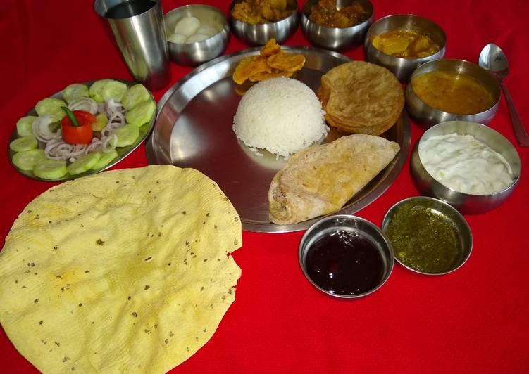 Bihari lunch