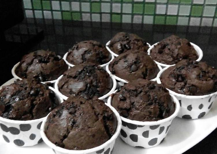 Resep Muffin Cokelat Simpel Paling Enak