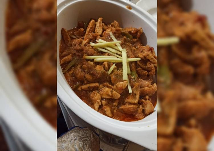 Simple Way to Prepare Ultimate Chicken boneless handi