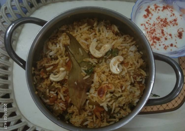 Healthy And Tasty Vegetables pulao