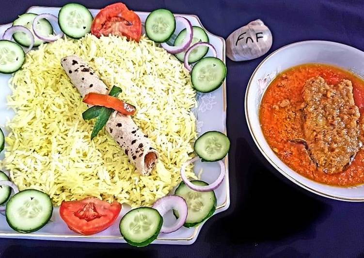 How to Prepare Perfect Fish curry with roti and chawal