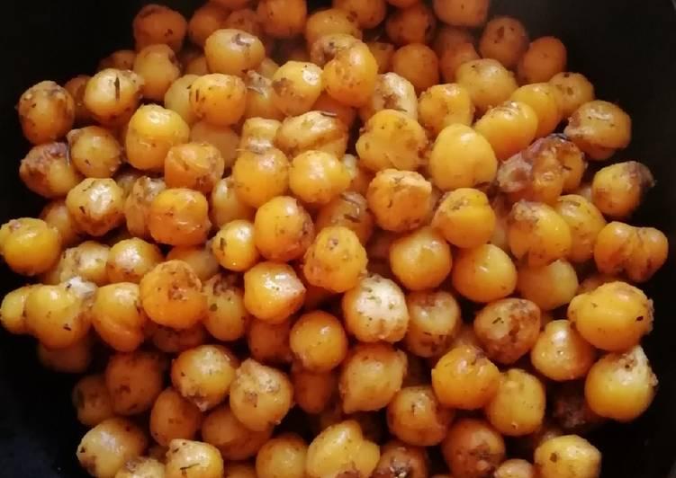 Recette Des Pop corn au pois chiches