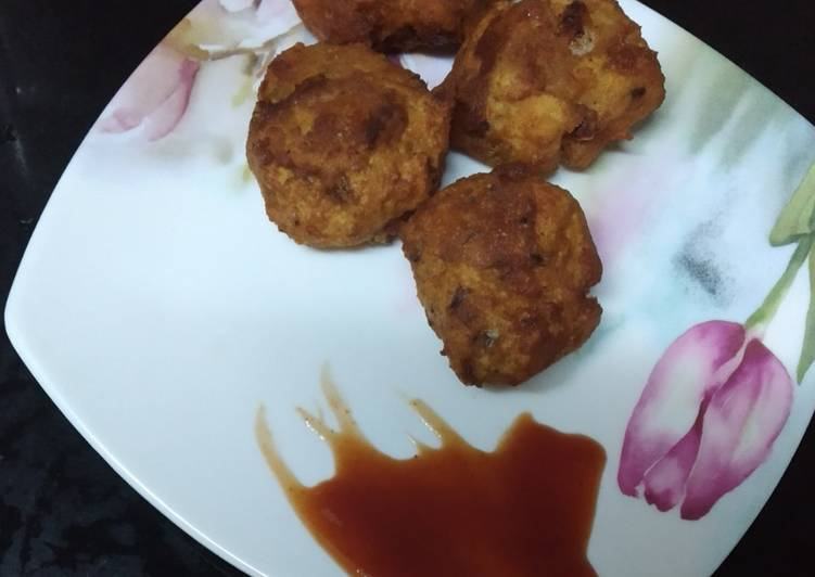 15 Minute Easiest Way to Make Love Bread fritters