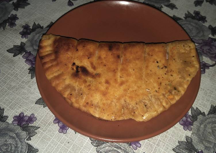 Domino's Style Garlic Bread   (Baked)