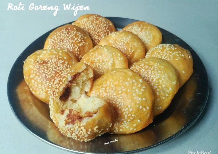Onde-onde Banjar / Roti Goreng Wijen