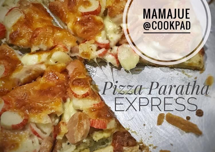 Cara Mudah Masak: Pizza Paratha Express  Sempena PKP