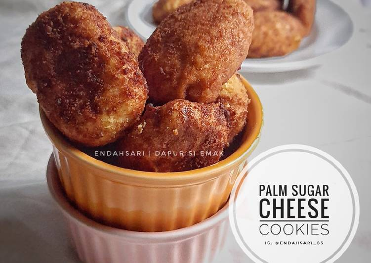 Palm Sugar Cheese Cookies - cookandrecipe.com