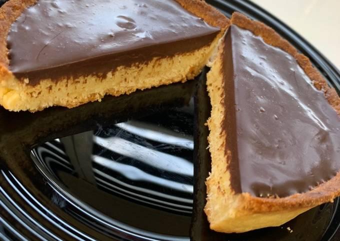 Tartelette chocolat 🍫 noix de coco 🥥
