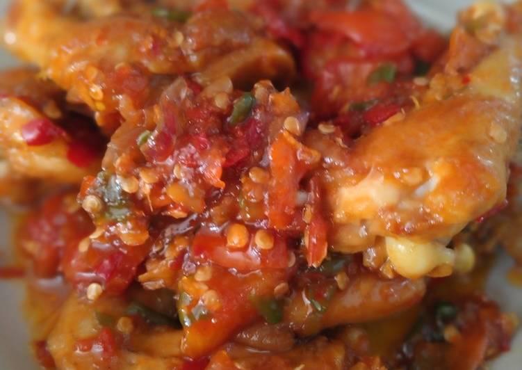 Ayam sambal tomat