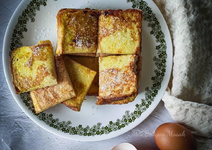 Roti Telur Bergula