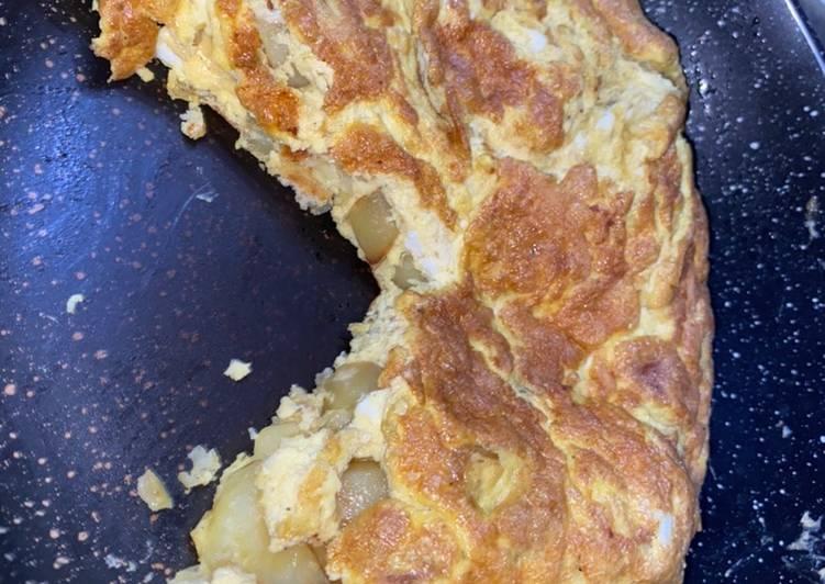 Omelette façon tortilla👩🏾🍳
