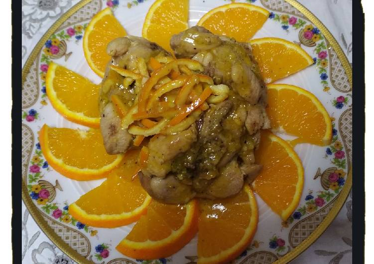 Easiest Way to Prepare Perfect Turkey Ossobuco with Orange