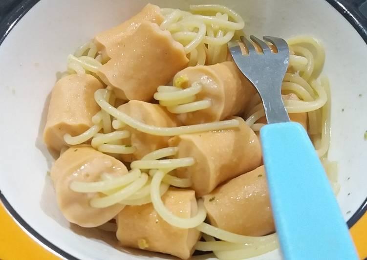 459. Sate spaghetty sosis