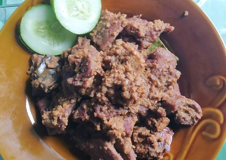 Lapis daging a.k.a rendang ala2