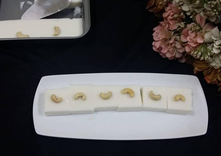 Simple Way to Make Award-winning Coconut Milk Nutty Panna Cotta