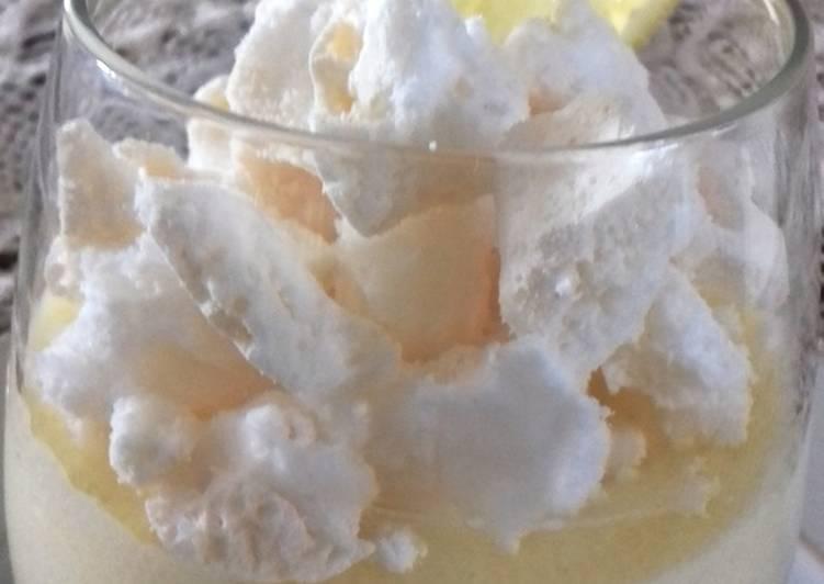 Comme une tarte au citron meringuée revisitée par Laurent Mariotte