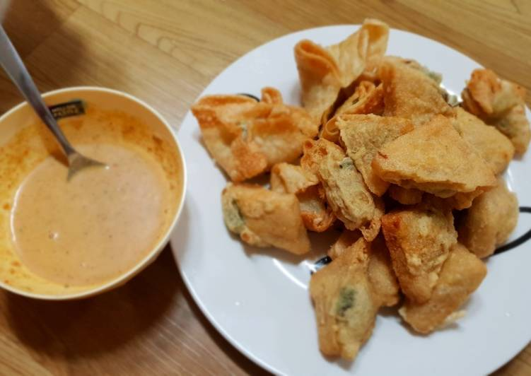 resep cara mengolah Batagor Ayam Bandung