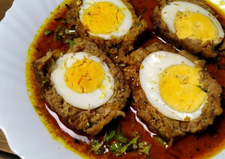 Nargisi Kofta Curry Finding Nutritious Fast Food