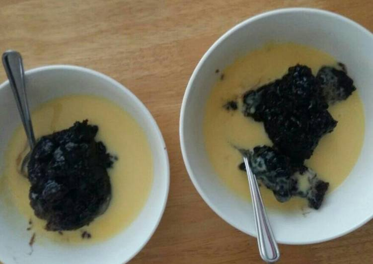 The Dell family Chocolate Pudding