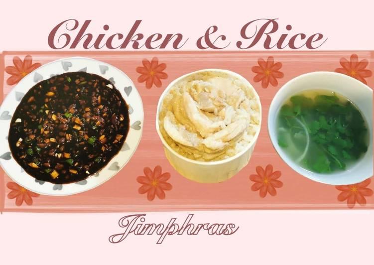 Chicken & Rice (Khao Man Gai)