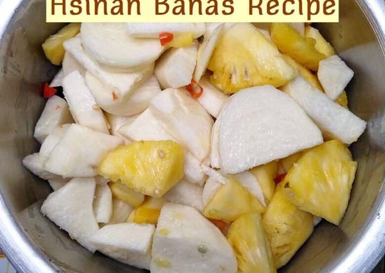 Asinan Banas (bangkoang nanas)