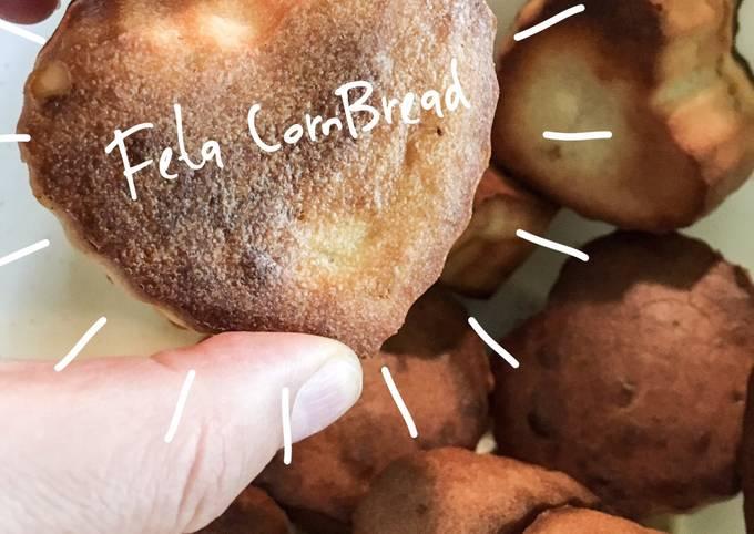 Fitness Recipes- Feta CornBread - Super Filling Breakfast