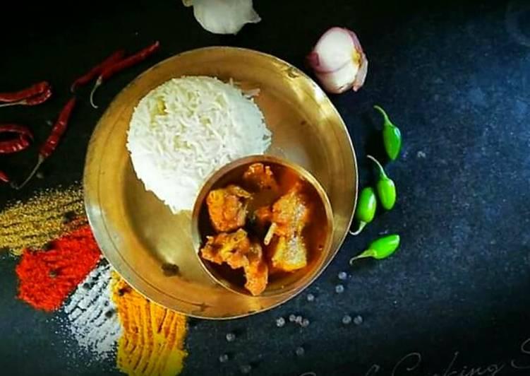 Recipe: Appetizing Bengali chicken Curry or Murgir jhol