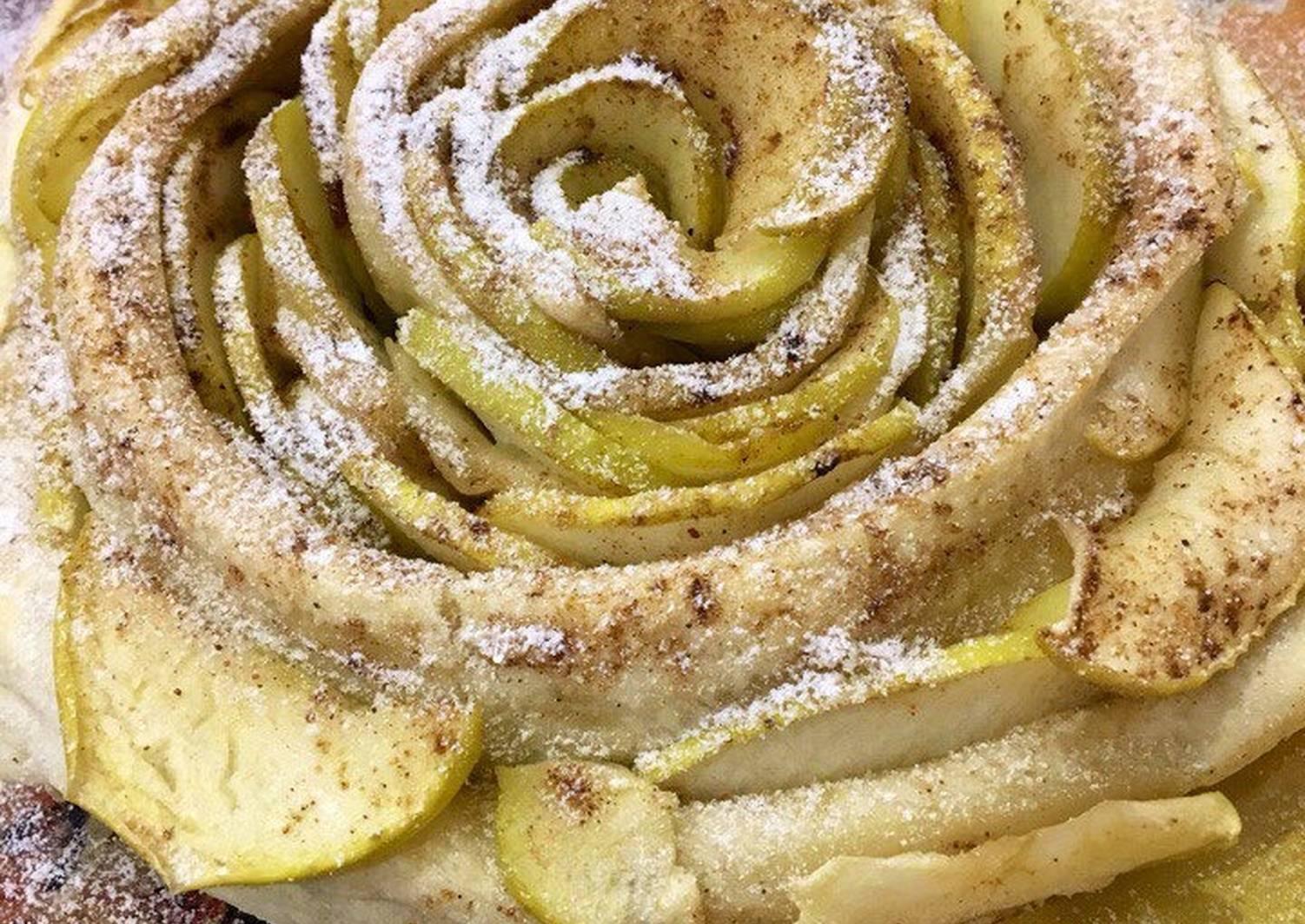 портфолио, яблочный пирог роза рецепт с фото семье цирковых артистов