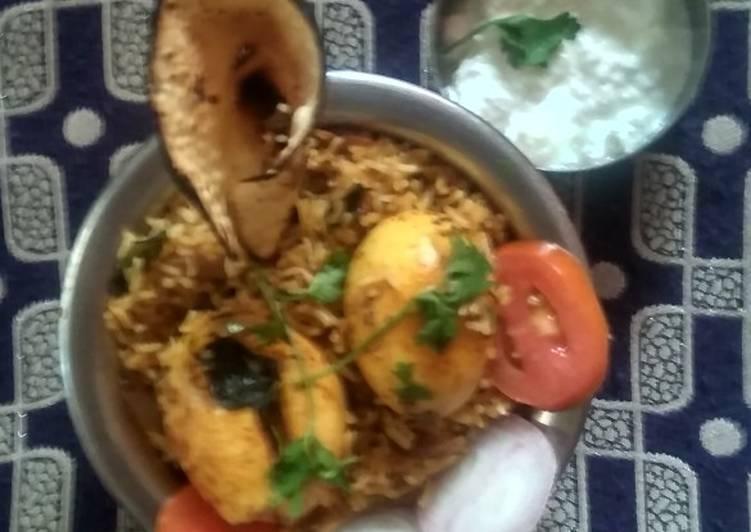 Egg briyani